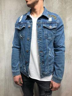 5c829ec52f770d 10 Top Denim jackets images   Denim jacket men, Denim jackets, Jean ...