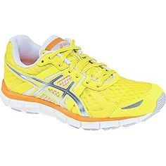 Asics- -Women's Athletic Shoe Gel Blurr 33 - Yellow
