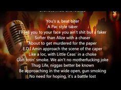 2Pac   Hit Em Up (Lyrics)