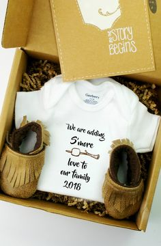 Pregnancy announcement ideas, baby announcements, click above to shop