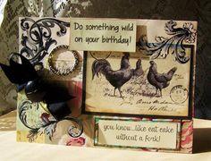 Do Something Wild on your BIRTHDAY handmade