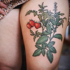 Finished up this tomato/basil illustration today! Thanks Stephanie!