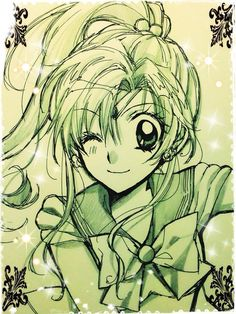 "Crunchyroll - Manga Artist Arina Tanemura Sketches ""Sailor Moon"" Cast"