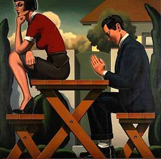 "Kenton Nelson, a Pasadena, CA based artist with his studio in the famous ""Castle Green"". Best of modern art."