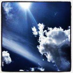 Day24: on my mind ~ was watching the weather & sky all day today. #photoadayjune #sky #clouds #sun #goodtimes - @dzinermom- #webstagram