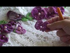 Комнатная фиалка ч-1 Crochet Violet Room р-1 - YouTube