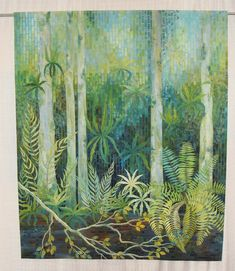 Fern Pool by Gloria Loughman, 2011 PIQF, photo by Tami Levin | Lemon Tree Tales
