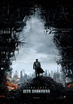 """""""Star Trek: Into Darkness"""" Directed by J. Starring Benedict Cumberbatch, Chris Pine, and Zachary Quinto, and Simon Pegg Star Trek 2009, New Star Trek, Star Wars, The Darkness, Star Trek Into Darkness, Darkness Film, Simon Pegg, Zachary Quinto, Star Trek Enterprise"""