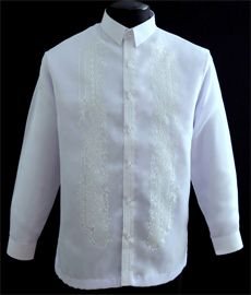 How to Buy White Barong Tagalog - Barongs R us - Barongs R us Barong Tagalog, Filipiniana Dress, Big Sizes, Line Shopping, Shirt Dress, Suits, Stylish, Store, Fabric