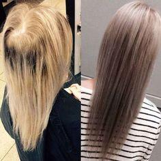 Før og etter bilde. Dette er mitt mesterverk