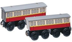 Thomas and Friends Wooden Railway - Express Coaches Learning Curve Learning Curve