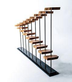 Holz Skulptur moderne Deko rustikaler Look Zypresse