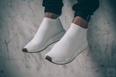 Adidas NMD CS1 PK - FTWWHT / FTWWHT / GUM416   Sneaker   Save Our Sole