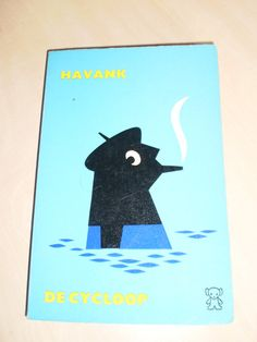 Dick Bruna Illustration Book Cover  havank black by simplyproducts, $9.95