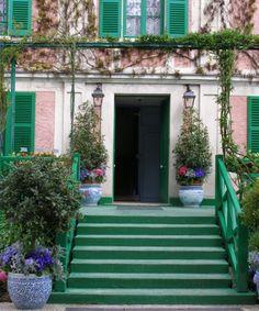 Monet's garden in Bretagne, France