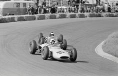 Jim Hall at the wheel of his Lotus-BRM during the 1963 Dutch Grand Prix. George Phillips photo.