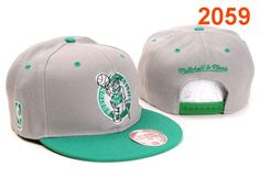 NBA Boston Celtics Snapback Hat Gray Green