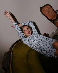 Jenny Blond loves Compania Fantastica ❤️ Mini dress with safari print. Safari, Merino Wool Blanket, Mini