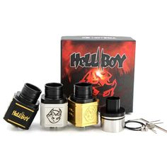 Vaporizer Hellboy V2 Rda Mods Atomizer Rebuildable Drip Coil Hell Boy Square Body Clone 24mm Diameter Airflow Control Huge Vapor Ecigarette Best E Cigarette Vaporizer Black Atomizer From Healthy_cigarette, $9.28| Dhgate.Com