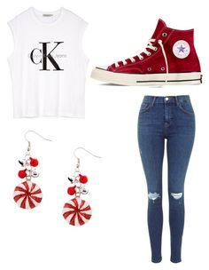 """""""Untitled #379"""" by pyper-77 ❤ liked on Polyvore featuring Calvin Klein and Converse"""