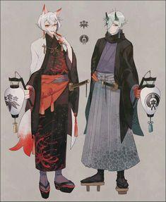 Touken Ranbu, Character Outfits, Character Art, Handsome Anime Guys, Bishounen, Boy Art, Character Design Inspiration, Look Cool, Costume Design