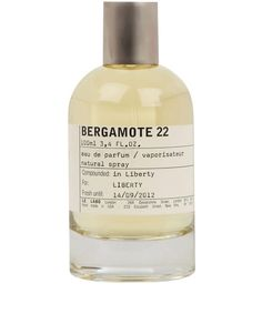 Le Labo Bergamote 22 100ml, Le Labo :: The unique personality of Le Labo's Bergamote 22 fragrance is a result of the flamboyant blend of sweet Amber and Musk with bitter Grapefruit, floral Petit Grain and vigorous Vetiver. This cult New York fragrance laboratory has created a scent that is a heady fusion of fresh, sweet and sensual ingredients, full of fire, which literally leap from the skin. Available in sizes of 50ml, 100ml and 500ml.   To have your perfume bottle personalised free of…