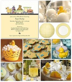 Duck Baby Shower Party Ideas
