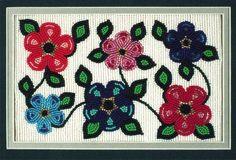 Beaded Flowers - Mary Ann Venne Seed Bead Earrings, Seed Beads, War Bonnet, Native American Crafts, Native Design, Ribbon Work, Beaded Flowers, Nativity, Ann
