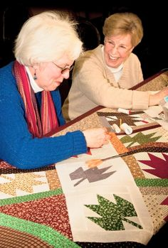 Photo courtesy of Sally Wiener Grotta  Friends of the Heart Quilting Guild is one of many photographs in Sally Wiener Grotta's American Hands project.