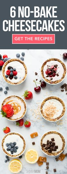 Eat CLEAN with these yummy no-back cheesecakes!
