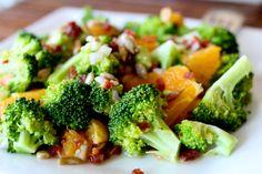 Broccoli and Orange Salad