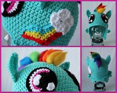 Latest Favorites [Hats and Scarves, Rainbow Brite, Ponies, and more] - CROCHET