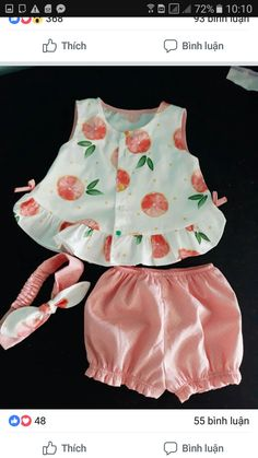 Baby Girl Dress Patterns, Baby Clothes Patterns, Cute Baby Clothes, Sewing Patterns, Baby Outfits, Kids Outfits, Baby Frocks Designs, Kids Frocks Design, Kids Dress Wear