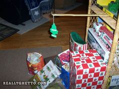 Ghetto Christmas Tree