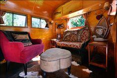 Travel Trailer Interior An absolutely wonderful 1948 Westwood Coronado travel trailer interior.