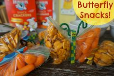 Easy Butterfly Snacks! #CuriousKids #HorizonSnacks