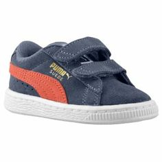 PUMA Suede Classic - Boys' Toddler - High Risk Red/White $39.99