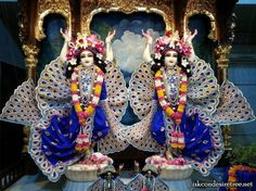 Krishna Balarama, ISKCON Ujjain Radha Kishan, Krishna Art, Spiritual Life, Hare, Eye Candy, Embroidery, Ganesh, San Diego, Tourism