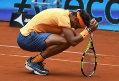 """2016 Mutua Madrid Open SF Rafael Nadal vs. Andy Murray  5/7 4/6   """"I think I had another positive week,"""" the World No. 5 said. """"I made it to the semi-finals. I've been very consistent every week. This is good news. Today, mentally I was okay. I fought a lot until the end. I tried to look for solutions and I think I did that, but it wasn't enough.  Source : ATP Road to Rome"""