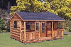 16' x 20' Cottage Shed Plans