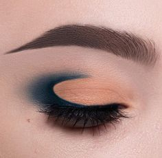 Moon cut crease. Maybe a little easier than the winged cut creases which are impossible to get even on both sides