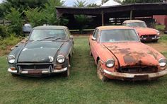 Forgotten For Decades: Multiple MGBs - http://barnfinds.com/forgotten-for-decades-multiple-mgbs/