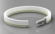 Bracelet key, no more putting keys in your pocket. Great for jogging and wearing pocketless pants. gadgets-and-genius-ideas Inspektor Gadget, Trick 17, Things To Know, Good Things, Ideias Diy, Take My Money, Cool Stuff, Random Stuff, Gadgets And Gizmos