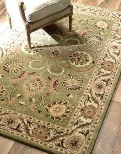 $5 Off when you share! Folklore VT14 Sage Rug | Traditional Rugs #RugsUSA