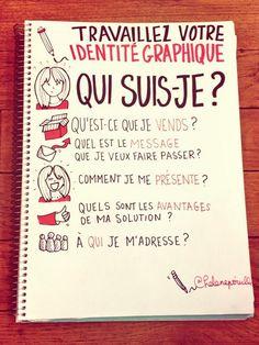 Comment travailler son Identité graphique : les bonnes questions à se poser ! By @helenepouille