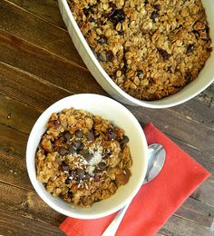 The Salty Kitchen: Baked Oatmeal