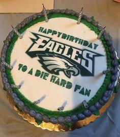 Super 39 Best Philadelphia Eagles Cakes Images Philadelphia Eagles Funny Birthday Cards Online Inifodamsfinfo