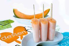 Sweet, bio and delicious: Ghiaccioli Bio Homemade al melone