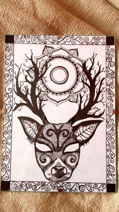 Magic Deer by me.
