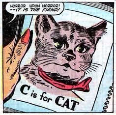 C is for cat | From Marvel Tales vol 1 #93 (1949)